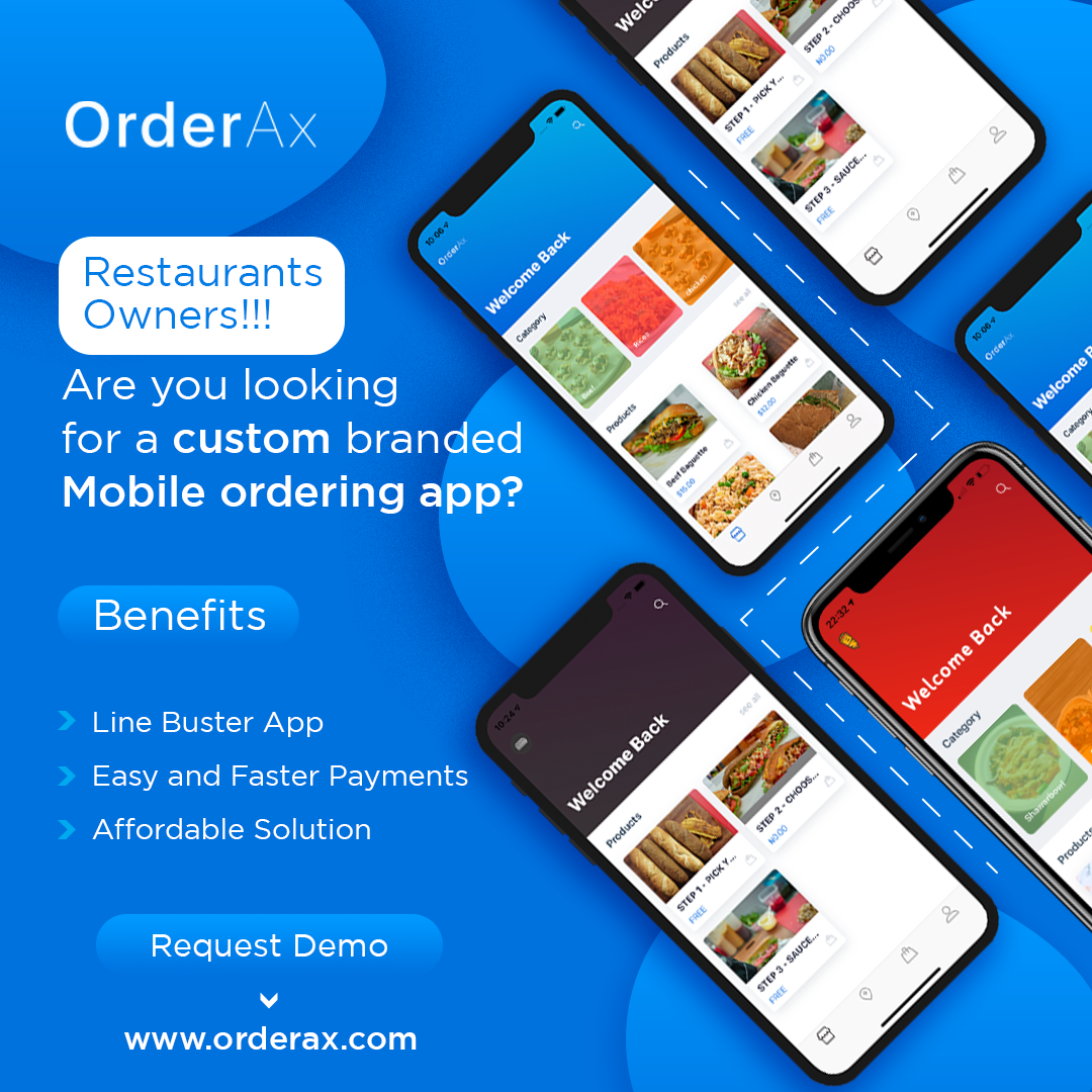 restaurant owners!!! Are you looking for a custom branded mobile ordering app